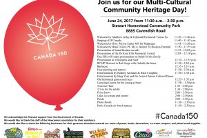 Multi-Cultural Community Heritage Day – June 24, 2017