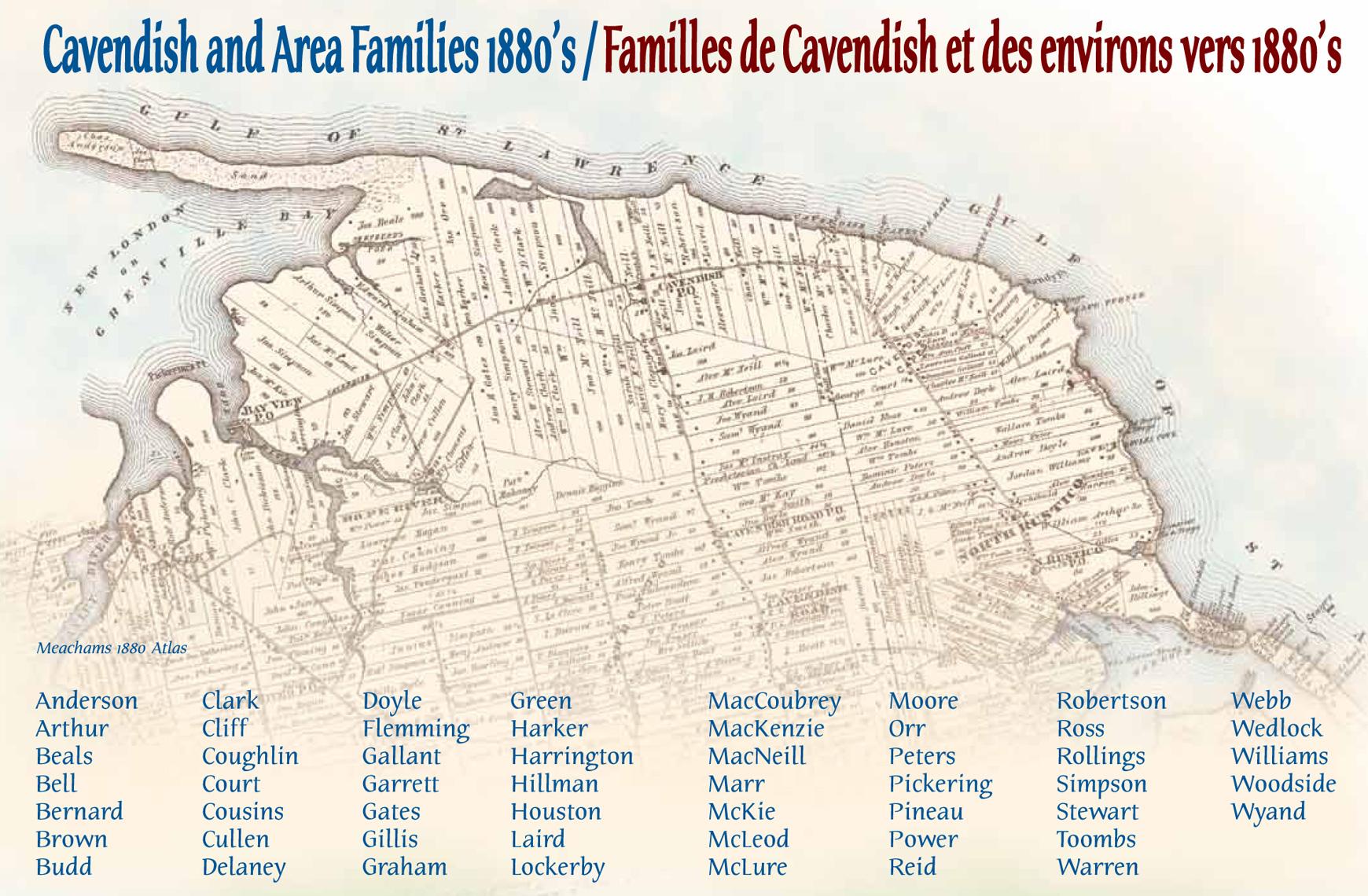 Cavendish Area Families